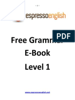 English Grammar eBook Beginner