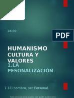 humanismo y valores