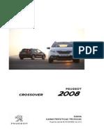 Peugeot 2008 Ficha Tecnica