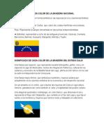 Significado de Simbolos Patrios Nacional y Del Zulia