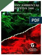 Libro Situación Ambiental Argentina 2000 (Bertonatti & Corcuera 2000)