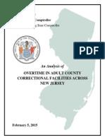 Mercer County corrections Report