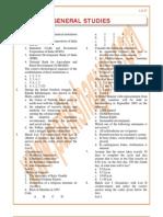 General Studies Previous Paper 2002