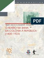 O Teatro Na Bahia