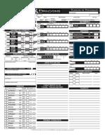 D&D 4E - Ficha Personagem