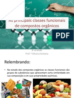 Aula 1 - As Principais Classes Funcionais de Compostos Orgânicos