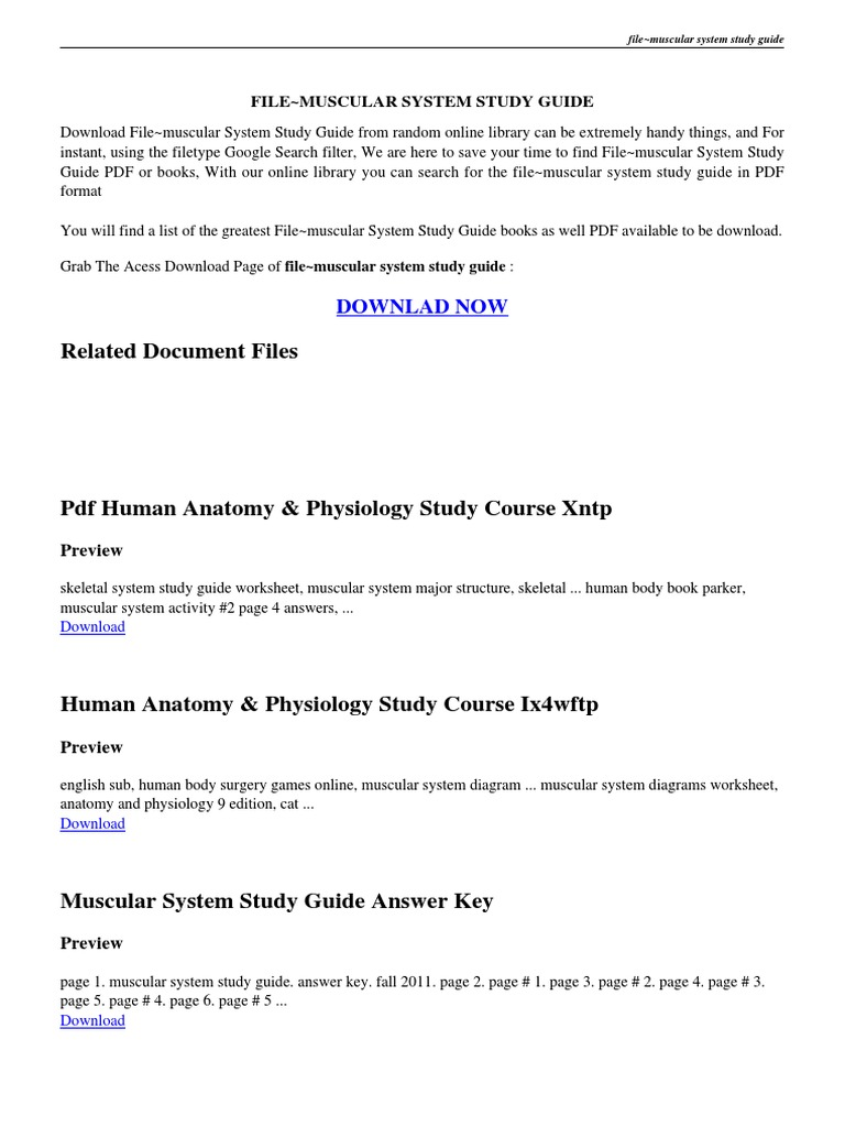Encantador Anatomy And Physiology Answer Key Foto - Imágenes de ...