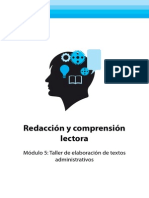 REDACCION Y COMPRENSION DE LECTURA
