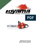 Manual Motosierras Toyama