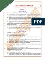 Public-Administration Previous Paper 1983