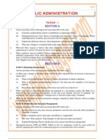 Public-Administration Previous Paper 1984
