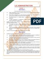 Public-Administration Previous Paper 1991