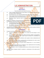 Public-Administration Previous Paper 1992