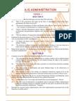 Public-Administration Previous Paper 1994