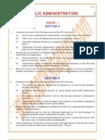 Public-Administration Previous Paper 1997