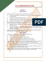 Public-Administration Previous Paper 1998