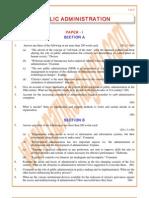 Public-Administration Previous Paper 2003