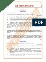 Public-Administration Previous Paper 2008