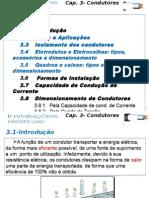 Cap. 3- Dimensionamento de Condutores BT.2014.2