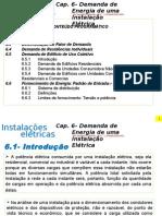 Cap. 6- Demanda de Energia de Uma Instalação Elétrica
