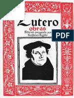 Obras, Martín Lutero