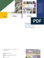 Catálogo Miradas al Arte Centro de Arte y Cultura de la UNAH.