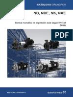 Catálogo Bombas Grundfos Nb, Nbe, Nk, Nke