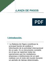 Balanza Pagos