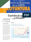 El petróleo de capa caída … ¿y el Ecuador?