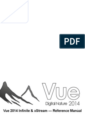 Vue 2014 Reference Manual | Copyright | License