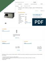 Sharp AL-2031, Blanco y Negro, Láser, Print:Scan:Copy | AL2031 | Cyberpuerta.mx