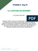 9 Actividad 8 Estructura de Informe Pag. 75