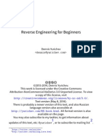 Reverse Engineering for Beginners