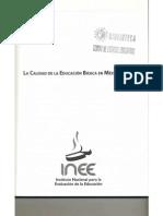 Texto 1 Introduccion La Calidad de La EB en Mexico -InEE