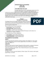 ACNT1303lecture Notes economics