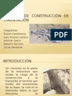 Proceso de Construcción de Cimentación