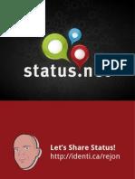 Whats Your StatusNet 2.0 (Updates like Identi.ca)