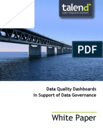 Talend WhitePaper - Dashboards Data Governance