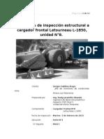 Reporte N°PA017. Inspección estrutural CF-8