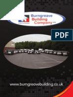 Burngreave Building Company Brochure