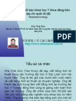 Vietnam 2.51:Tổ chức lớp viết báo khoa học Y khoa đăng trên tạp chí quốc tế (4)