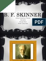 b.f. Skinner Biography