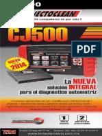 272 cj500 scaner