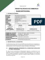 Silabo Mecanizacion Agrícola Octubre2014 Marzo2015