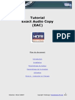 EXACT AUDIO COPY ( EAC )
