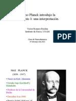 planck-h (deduccion)