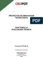 Uruguay PIT Guia Para La Evaluacion Tecnica PDF