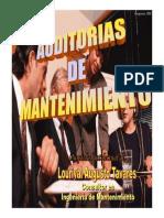 Auditoria de Mantenimiento 8 h - Panamá 2014