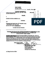 Strunk's Notice of Motion with Affidavit and Exhibits to Intervene as Defendant in ACORN v USA EDNY 09-Cv-4888_012010