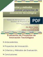 5-Criterios evaluación proyectos de innovación-Tostes-13-01-10